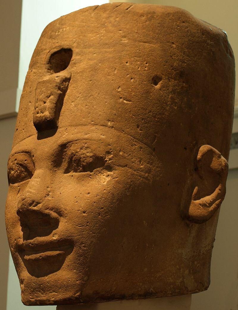tête-colossale-de-thoutmôsis-Ier-british-museum