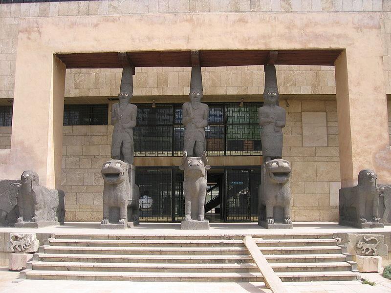 entrée-musée-national-alep-reconstruction-palais-kapara-tell-halaf