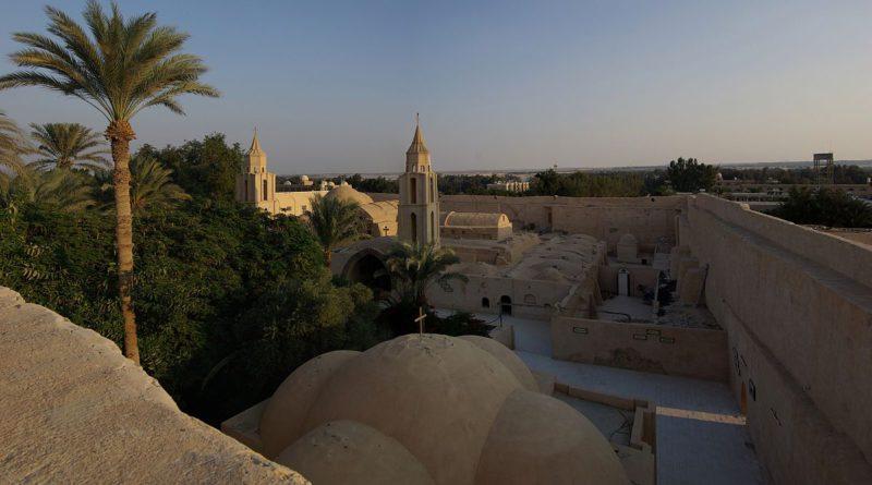 Fresques médiévales découvertes dans un monastère copte du désert égyptien