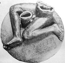 Statue de Bassetki, époque akkadienne