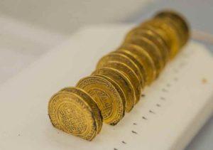 dinars or trésor abbaye Cluny