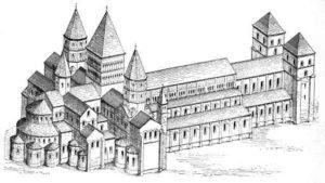 église abbatiale Cluny